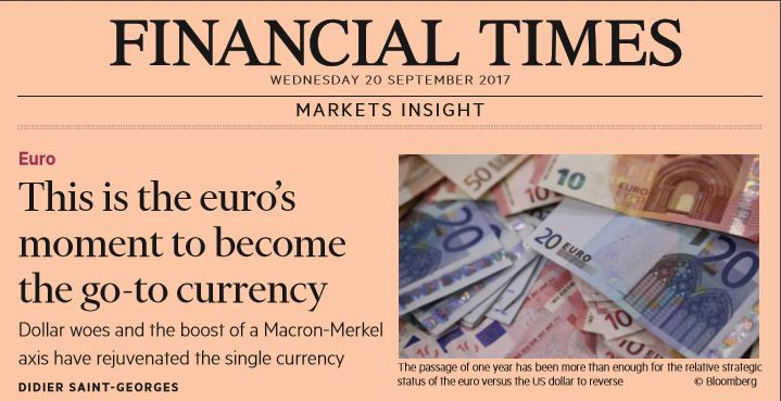 [Main Media] [Flash Note] Financial Times Markets Insight